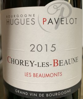 2018 Hugues Pavelot Chorey Les Beaune Les Beaumonts