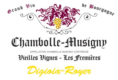 2016 Digioia Royer Chambolle Musigny Les Fremieres Vieilles Vignes