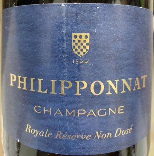 NV Philipponnat Champagne Royale Reserve Non Dose