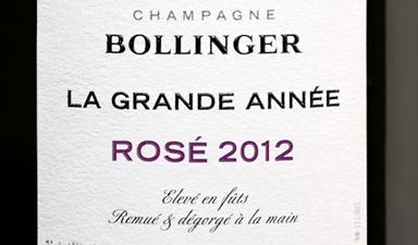 Bollinger La Grande Annee Rose - Click Image to Close