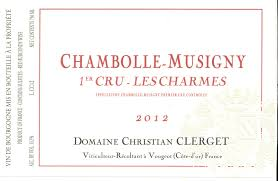 2015 Christian Clerget Chambolle Musigny 1er Les Charmes