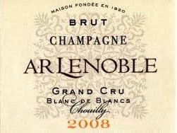2008 AR Lenoble Grand Cru Blanc de Blancs Chouilly