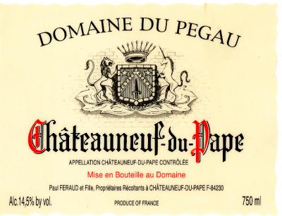 Pegau Chateauneuf Cuvee Laurence - Click Image to Close