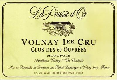 Pousse d Or Volnay Caillerets 60 Ouvrees - Click Image to Close