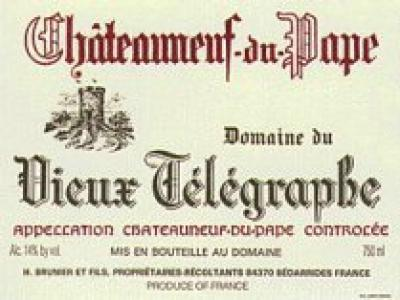 Vieux Telegraphe Chateauneuf du Pape - Click Image to Close