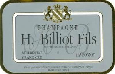 H. Billiot Brut Reserve - Click Image to Close