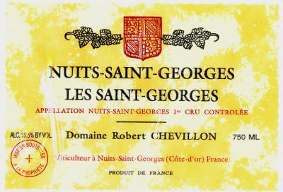 Chevillon Nuits St. Georges 1er Cru Les St Georges - Click Image to Close