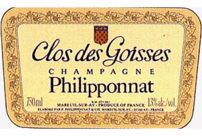 Philipponnat Clos des Goisses - Click Image to Close