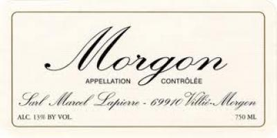 Marcel Lapierre Morgon - Click Image to Close