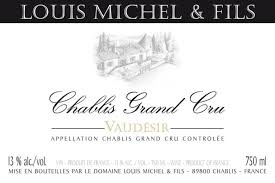 2017 Louis Michel Chablis Grand Cru Vaudesir