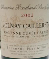 2009 Bouchard Volnay Caillerets Cuvee Carnot 1.5ltr
