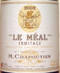 2005 Chapoutier Hermitage Le Meal