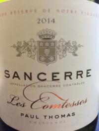 2018 Paul Thomas Sancerre Les Comtesses