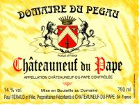 2003 Pegau Chateauneufe Reservee 3.0ltr