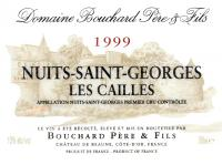 2009 Bouchard Nuits St Georges Les Cailles
