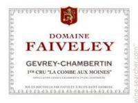 2015 Faiveley Gevrey Chambertin Combe aux Moines