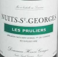 2005 Gouges Nuits St Georges Pruliers