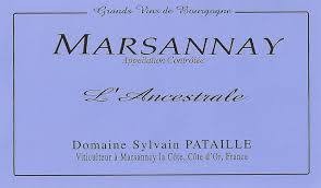 2015 Sylavin Pataille Marsannay L'Ancestrale Rouge